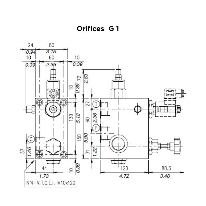 Valve /à assiette en m/étal de 80 mm de diam/ètre avec anneau de montage Anemostat valve de ventilation.
