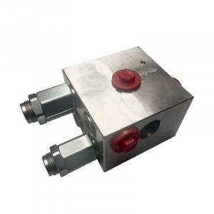 valve d'equilibrage avec clapet anti-cavitation