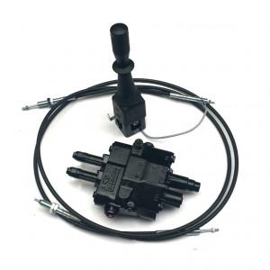 pompe debit fixe commande a cables